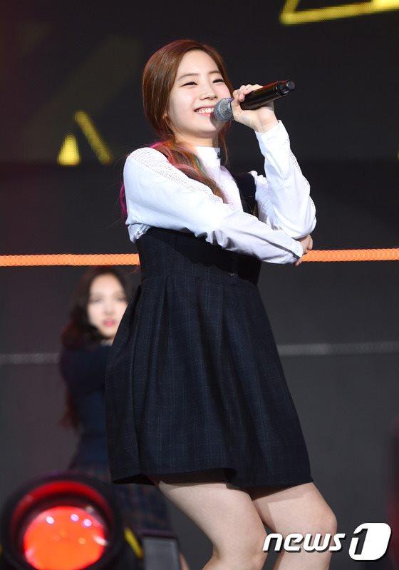 アラド戦記祝賀公演中のTWICEダヒョン